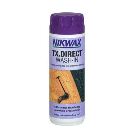 Nikwax Waterproof TX Direct Wash in